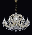 The cheap Maria Theresa crystal chandelier 12 candles