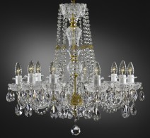 Clear crystal glass PK500 chandeliers & Lamps