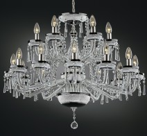 The crystal chandelier Black & White