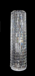 Luxurious massive floor lamp made of crystal glass - CRYSTAL TOWER