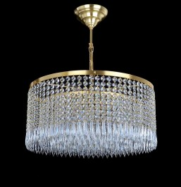 Luxury drum crystal chandelier dia 50 cm