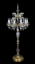 Luxurious high floor lamp of Maria Theresa