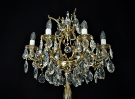 Luxury massive floor lamp 8 bulbs - Top part