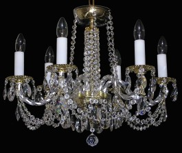Smaller crystal chandelier from Swarovski crystal