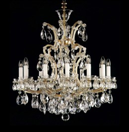 Royal Theresian crystal chandelier wit 13 lights