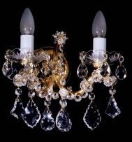 The 2-bulbs Maria Theresa wall light