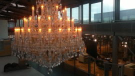 The 48 flames Maria Theresa chandelier - Glold finish