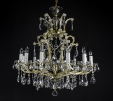 The gold Maria Theresa chandelier 12+1 bulbs