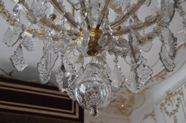 Detail of the old Theresian chandelier
