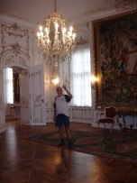 The original chandeliers of Maria Theresa