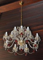 Whole Baccarat chandelier