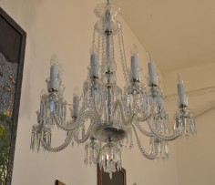 12 bulbs crystal chandelier Baccarat