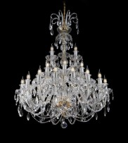 Bigger chandelier for festive occasions