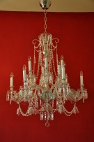 General view of the chandelier