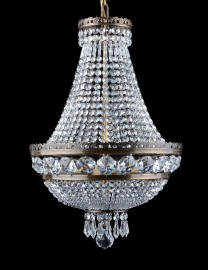Imitation of a strass antique chandelier