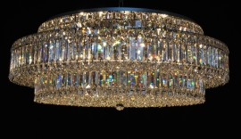 Modern Strass surface-mounted chandeliers