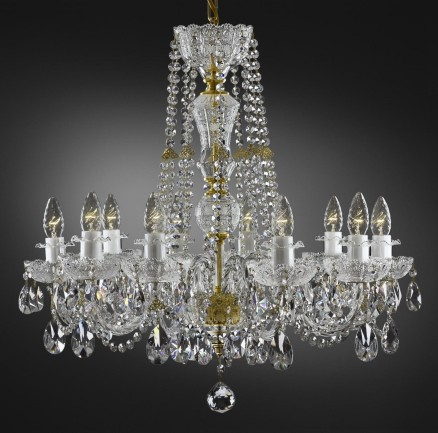 Clear crystal glass PK500 chandelier