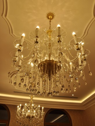 Chandeliers for government buildings