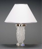 Artistic Table Lamp (Clear sanded glass)